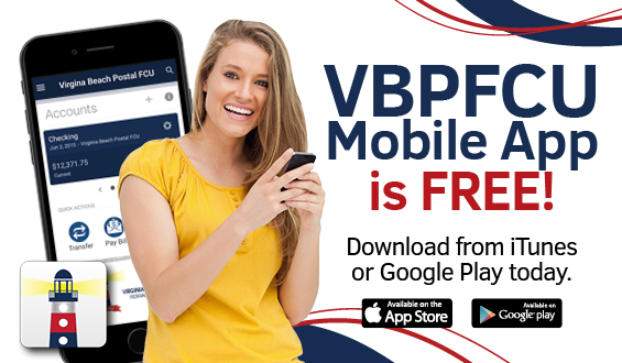 Virginia Beach Postal FCU - Mobile App