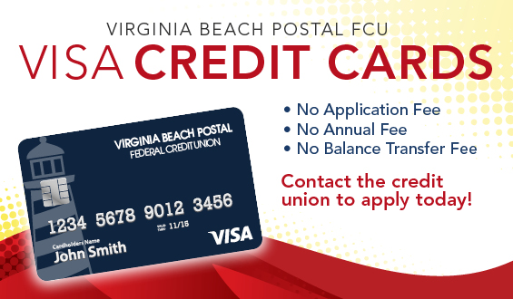 Virginia Beach Postal FCU - VISA Credit Cards